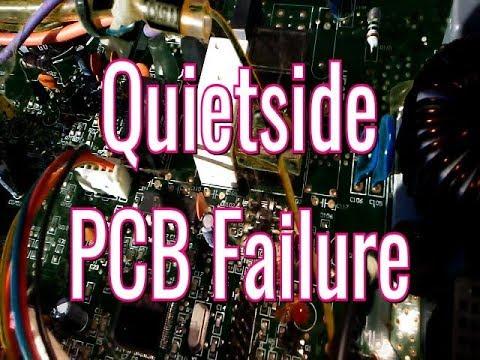 Quietside Mini Split PCB Failure   HVAC Service Call