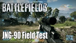 Battlefield 3: JNG-90 Field Test (Sniper Gameplay/Commentary)