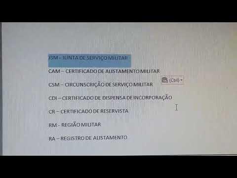 EU FUI ME ALISTAR COM 28 ANOS NO EXÉRCITO BRASILEIRO from YouTube · Duration:  6 minutes 41 seconds