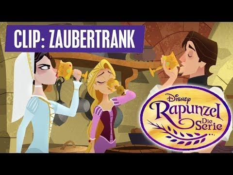 RAPUNZEL - DIE SERIE // Clip: Der Zauberrank | Disney Channel