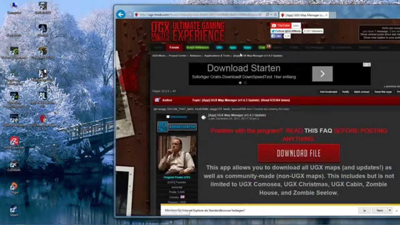 custom zombies download UGX Map Manager 1 4 3 - YouTube