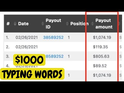 Earn PayPal Money Free From This Method (WORKING 2021) | Make Money Online Typing