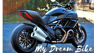 Picking up my Dream Bike - Ducati Diavel