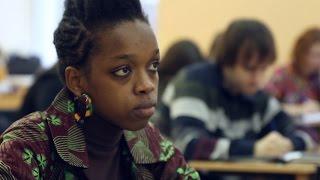 Девушка из Сенегала приехала в ПГНИУ, чтобы выучить русский язык