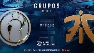 INVICTUS GAMING VS FNATIC   WORLDS GRUPOS   DÍA 6   LEAGUE OF LEGENDS WORLDS (2018)