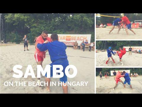 Beach sambo in Hungary 2016