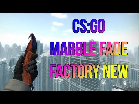 Csgo Knife Showcase Gut Knife Marble Fade Factory New Youtube