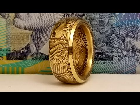 How to Make a Coin Ring From a 1 oz US Gold Eagle