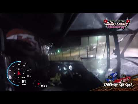 #75 Terry Phillips - USMTS Modified - 7-15-19 Dallas County Speedway- In Car Camera