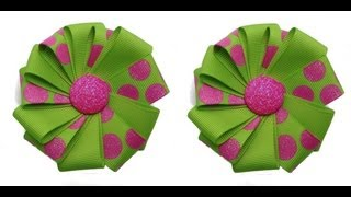 Make A Ribbon Flower Easy Diy Tutorial