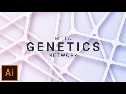 How to Design Meta Web like Background in Adobe Illustrator