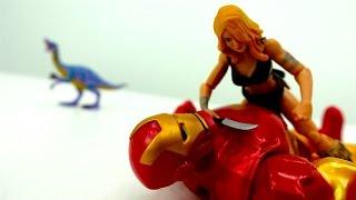 Мультики для мальчиков про супергероев. Железный человек (Марвел) против Бибопа (Черепашки Ниндзя)