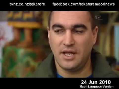 Kai Tahu Language Te Karere TVNZ Te Reo 24 Jun 2010