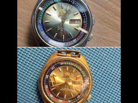 реставрация часов ориент механические автоподзавод,продажа и ремонт часов
