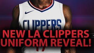 La clippers new uniform reveal! | upgraded jerseys