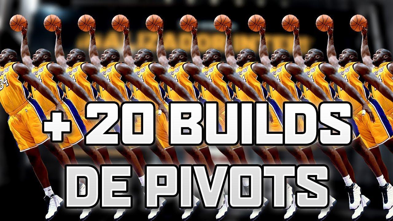 Creando ¡¡MÁS DE 20 BUILDS DE PIVOTS!! PS4 - Directo de Twitch