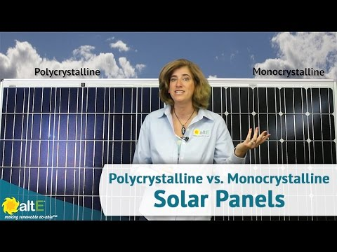 Monocrystalline vs. Polycrystalline Solar Panels - What's th