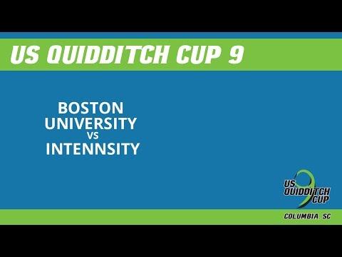 Day 1 - Boston University vs inTENNsity - US Quidditch Cup 9