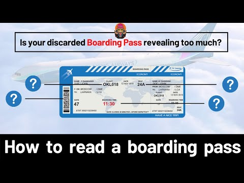 How to read a Boarding Pass   Monkey Gyan   Episode 2