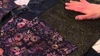 J Stern-Designs l Quick-Tipp: Wie erstelle ich eine Allgemeine Applique Design auf einen Jean-Rock