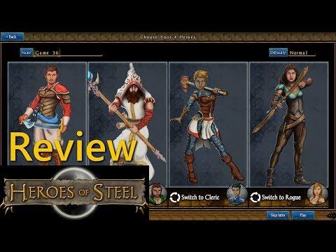 HEROES OF STEEL RPG - Gameplay Review