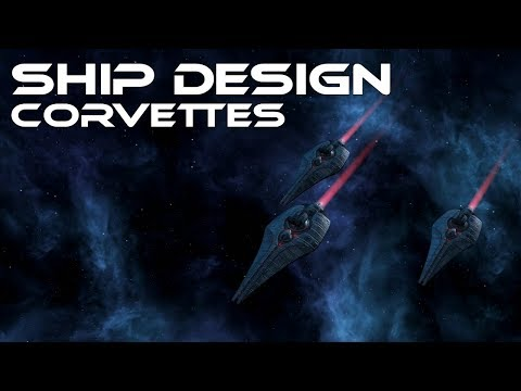 Stellaris 2.0 - Ship Design - Corvettes