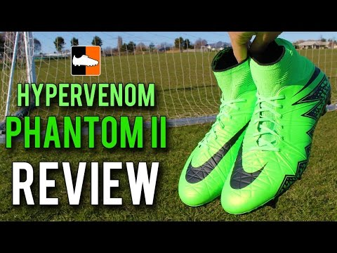 Green Nike Hypervenom Phantom II Review - Lightning Storm Edition