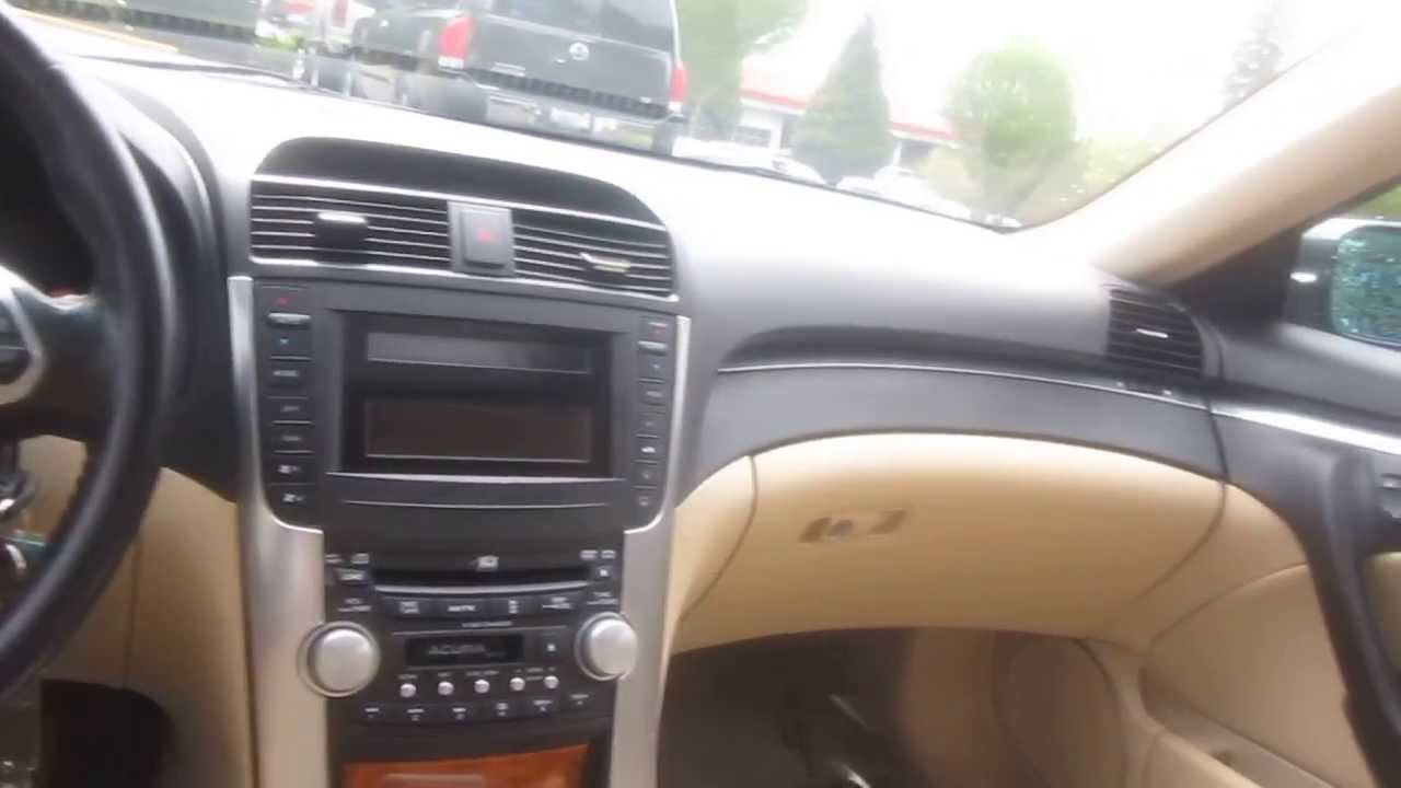 2004 Acura TL, Green   STOCK# 13473A   Interior
