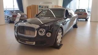 ONE OF ONLY 12 BENTLEY MULSANNE GRAND LIMOUSINE IN THE WORLD ! P-1
