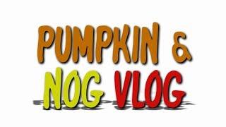 Pumpkin & Nog Vlog - Ep 106 - McDonald's Holiday Pie -