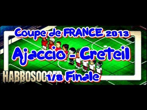 HabboSoccer   Coupe de France   Ajaccio - Creteil   1/8 Final   N.Subotic