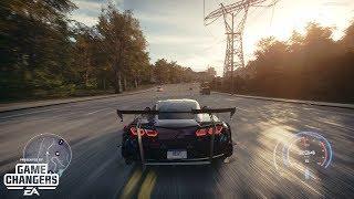 Need for Speed Heat - K.S Edition Chevrolet Corvette Grand Sport Gameplay [4K]
