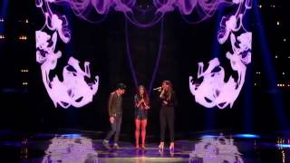 Alex & Sierra with Leona Lewis - Bleeding Love (The X-Factor USA 2013) [Top 3]