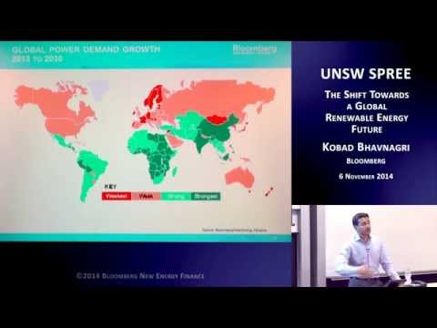 UNSW SPREE 201411-06 Kobad Bhavnagn - The shift towards a global renewable energy future