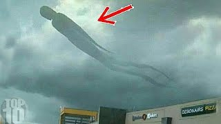 10 UNEXPLAINED MYSTERIES IN THE SKY CAUGHT ON CAMERA