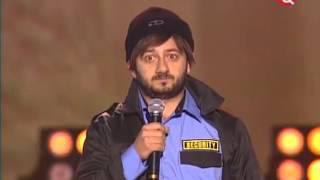 Миша Галустян Сергей Лунин - Прием на службу в полицию