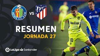 Resumen de Getafe CF vs Atlético de Madrid (0-0)