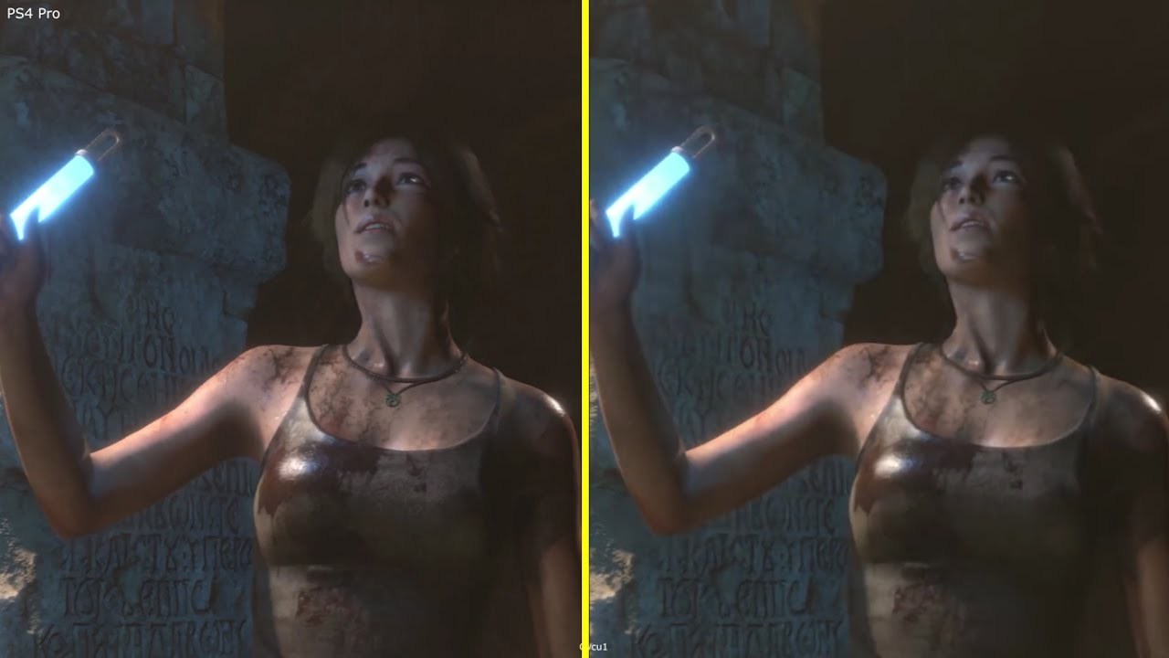 Rise of the Tomb Raider PS4 vs PS4 Pro 4K Graphics ...