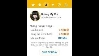 Kiếm tiền online từ 10 - 30.000/ngày chỉ mấy 5 phút với ứng dụng GOM LÚA