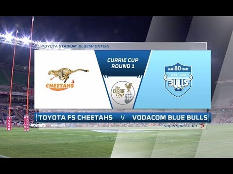 Currie Cup 2018 | Toyota FS Cheetahs vs Vodacom Blue Bulls