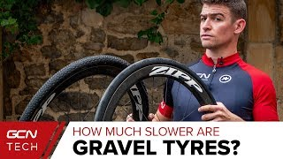 Gravel Vs Road Tyres   How Much Slower Are Gravel Tyres?