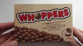 Whoppers Unboxing