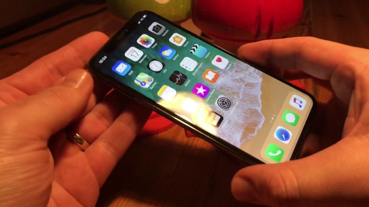 Apple IPhone X Hard Reset Bei Funktionsverlust Oder Fehlfunktionen 10 Neustart Anleitung