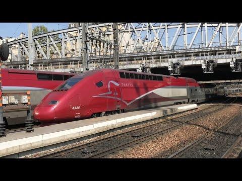 Thalys Trains at Paris Gare du Nord