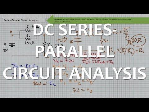 DC Series-Parallel Circuit Analysis