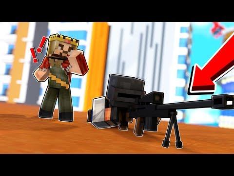 ZENGİN KESKİN NİŞANCIYI YAKALADI - Minecraft Pubg Modu! thumbnail