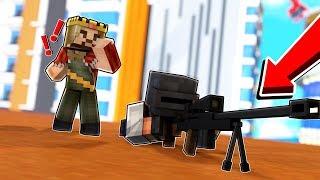 ZENGİN KESKİN NİŞANCIYI YAKALADI - Minecraft Pubg Modu!