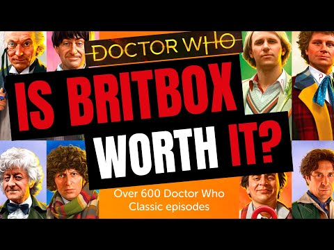 A Closer Look At Classic Doctor Who Streaming On BritBox UK | 'Secret' Season Menu Revealed!