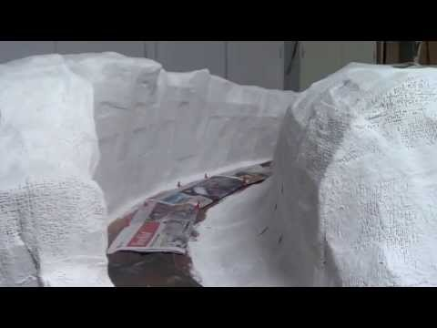 """Plastering Mountains"" Model Trains Part 22 ""D"""