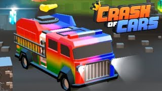 THE FIRE TRUCK - Crash of Cars a real-time multiplayer gameplay